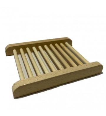 Jabonera Rejilla Bambú