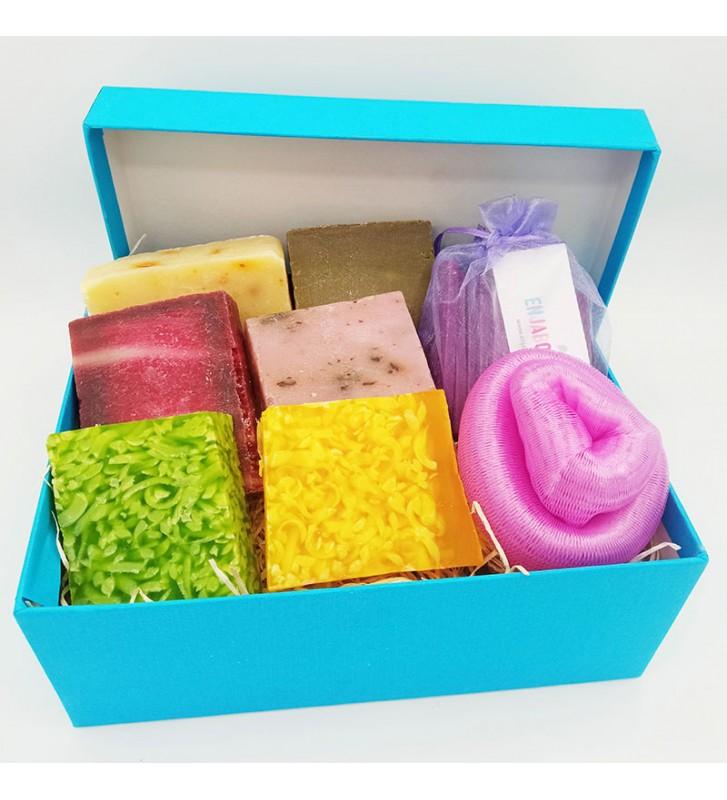Caja color regalo